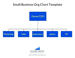 Company Structure Diagram Template Business Hierarchy Template Lccorp Co