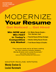 Resume Book Modernize Your Resume LouiseKursmark 22