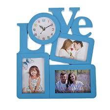 smera designer love wall clock with