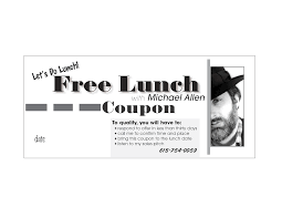 Coupon Format 24 Images Of Lunch Coupon Template Leseriail 23