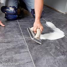 awesome vinyl plank flooring over concrete luxury vinyl tile installation the family handyman