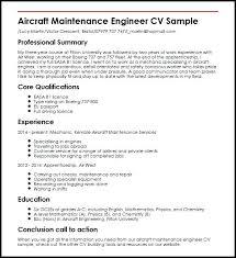 Sample Of Maintenance Resume Maintenance Engineer Resume Samples