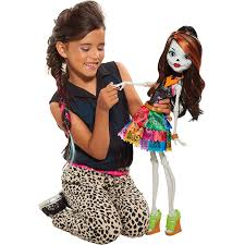 official spring monster high doll gore geous ghoul skelita calaveras beast freaky friend 28 61653