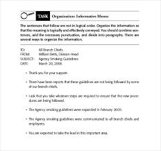Memorandum Sample Template For Writing A Memo Printable Sample Business Memorandum