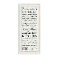 grandparents house rules by daphne on house rules wooden wall art with stupell industries 7 in x 17 in grandparents house rules by