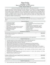 Accounts Receivable Resume Template Stunning Accounts Receivable Resume Templates Samples Format For Accounts