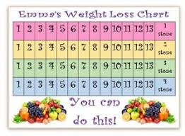 Slimming World Weight Loss Chart Details About Personalised Weight Loss Chart Fruit Slimming World Weight Watchers