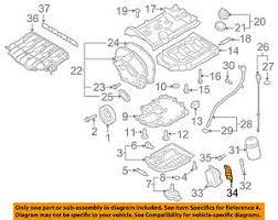 s l300 vw volkswagen oem 09 17 cc engine parts oil cooler gasket 06j117070c on vw cc engine diagram