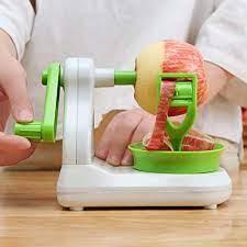 Çok fonksiyonlu El krank Elma Meyve Soyucu Paslanmaz Çelik Armut Soyma  Makinesi Manuel Mutfak Sebze Meyve Soyma Aracı|Peelers & Zesters