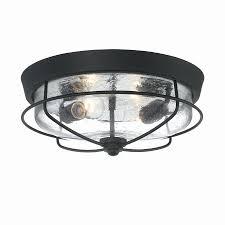 motion sensor ceiling light fixture beautiful round black finish