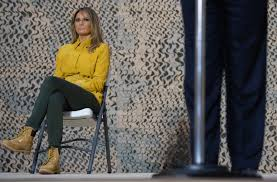 <b>Melania</b> Trump gets mocked for wearing Timberland <b>boots</b> while ...