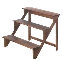 furniture with free rustic plant stand wooden steps plant stand architectures wood wood outdoor 3 layer plant stand