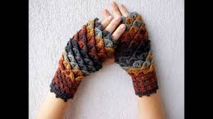 Dragon Scale Fingerless Gloves Pattern Free Magnificent Design Inspiration