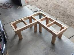Diy Corner Bench With Built In Table H3me Kitchendining Room
