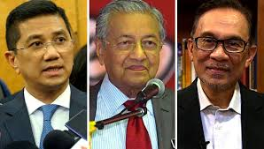 Image result for azmin ali and mahathir