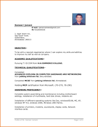 Template Student Resume Template Word 61 Images College Cv
