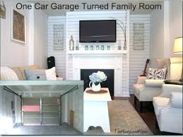 how to turn a garage into room convert bedroom