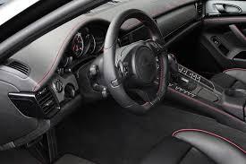 porsche panamera black interior. porsche panamera black edition by techart interior