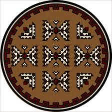 southwest rugs 8 ft round cami blanket southwestern rug round southwestern area rugs