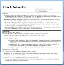 Manufacturing Engineering Sample Resume Classy Manufacturing Engineer Resume Sample Download Examples Of R