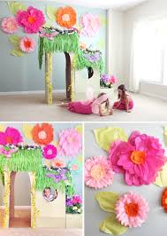 Giant Tissue Paper Flower Tutorial - Part 1 - At Home With Natalie