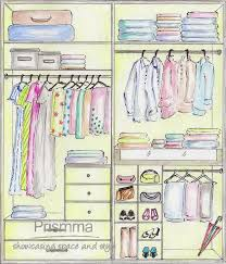 wardrobe design layout and space planning
