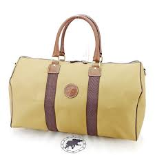 t2866 which there is hunting world hunting world boston bag handbag trip bag men s possible khaki