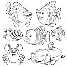 animal coloring worksheets 2. Delighful Worksheets Best Of Water Animal Coloring Pages Free 2j  Gold Fish Clipart Sea With Animal Coloring Worksheets 2 R