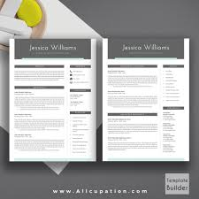 Creative And Beautiful Resume Template With Cover Letter Template