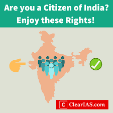 to citizens of india
