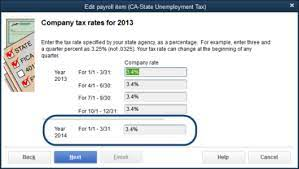 Important information about naics credits to employers. How To Update Unemployment Tax Rate In Quickbooks Online Rating Walls