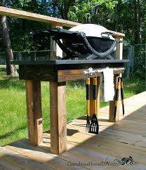 building a backyard grill how to build an outdoor grill station with a pipe rack posts building a backyard