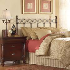 king size headboard. Plain Headboard Fashion Bed Group Argyle KingSize Headboard With Round Finial Posts And  Diamond Wire Metal Intended King Size I