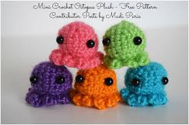 Octopus Crochet Pattern Extraordinary Mini Crochet Octopus Plush Free Pattern The Stitchin Mommy