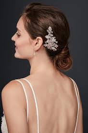 Bridal and Wedding <b>Hair Combs</b> & Clips | David's Bridal