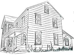 Coloring Pictures Of A House Pages For Toddlers Altrementiinfo