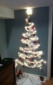 christmas trees for small spaces. Wonderful Small Wall Christmas Tree For Small Spaces  On Trees For Small Spaces