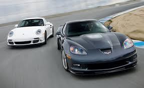 2010 Chevrolet Corvette ZR1 vs. 2010 Porsche 911 Turbo ...