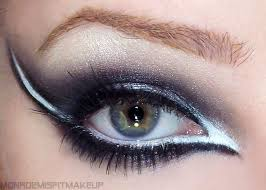 black and white eyeliner makeup google search