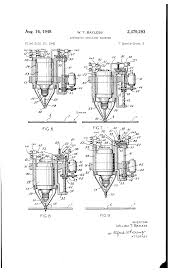patent us2479293 automatic drilling machine google patents patent drawing
