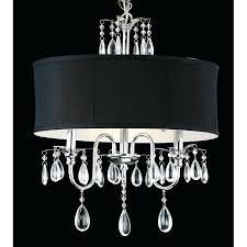 black shade chandelier chrome 3 light black shade crystal chandelier black drum shade chandelier