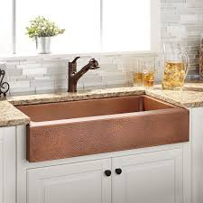 hammered farmhouse sink. To Enhance The Style Of Your Kitchen Vernon Features Hammered Detailing Across Hardware Copper Farmhouse Sinks 949 And Sink