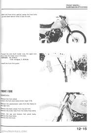 1983 1987 honda xl600r dual sport motorcycle service manual 1983 1987 honda xl600r service manual page 1