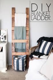 Diy Blanket Ladder Diy Blanket Ladder Free Plans Cherished Bliss