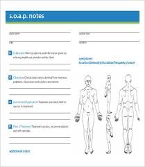 Soap Note Template 10 Free Word Pdf Documents Download Free