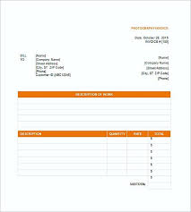 Invoice Template For Photographers Photography Invoice Templates Photography Invoice Template