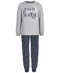 <b>Пижама Button Blue</b> для мальчиков купить, серый, 699 руб. в ...