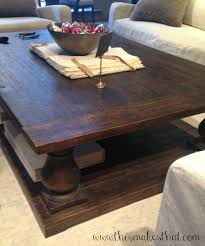 Good Coffee Tables : Simple Simple Dark Brown Rectangle Farmhouse Wooden Restoration  Hardware Coffee Table With Storage Design Ideas To Decorating Living Room  ... Great Pictures