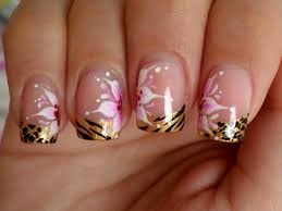 5 Nail Designs 5 French Tip Nail Designs For Short Nails