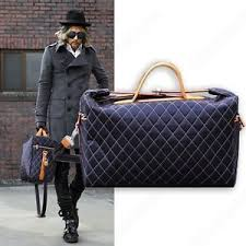 Men's Quilted Travel Weekend Gym Bag Laptop Briefcase Satchel 2 ... & Image is loading Men-039-s-Quilted-Travel-Weekend-Gym-Bag- Adamdwight.com